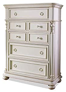 Wood Chest with 7 Drawers