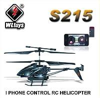 WLtoys iPhone/Androidで操縦 カメラ付きラジコンヘリ 動画撮影可 S215