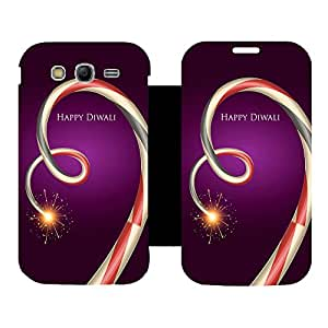 Phone Candy Designer Flip Cover with hi-res printed Vinyl sticker wrap-around for Samsung Galaxy Grand Neo