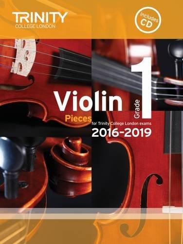 Violin Exam Pieces Grade 1 2016-2019 (Score, Part & CD)