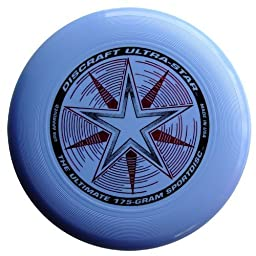 Discraft 175 gram Ultra Star Sport Disc. Light blue