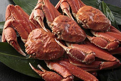 船上ボイル 新物 巨大 姿ずわい蟹 3kg 3匹入 -