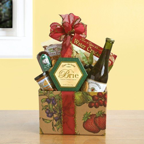 Wine Country Picnic Classic Gift Basket
