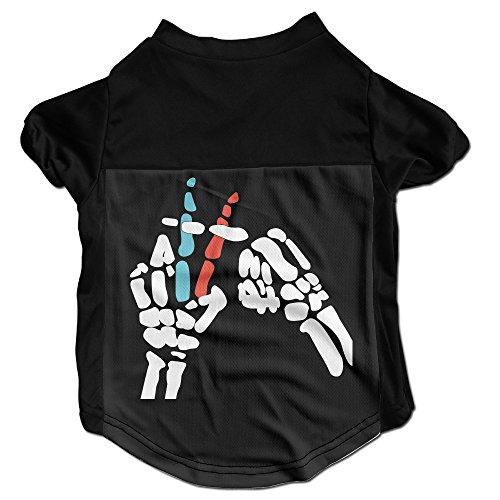 geste-xj-cool-twenty-one-legionnaire-pets-t-shirt-pour-petit-hello-kitty-noir
