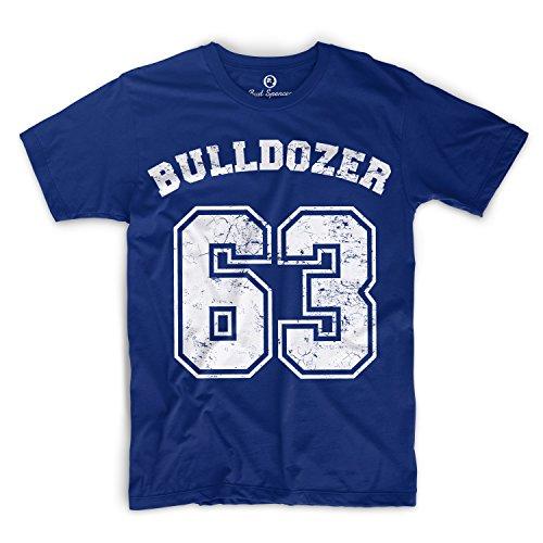 Bud Spencer-Bulldozer 63-T-shirt blu royal L