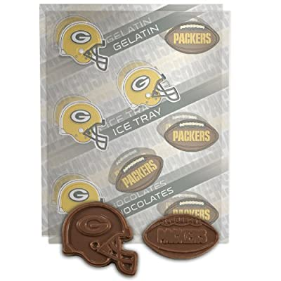NFL Green Bay Packers Candy Mold (Pack of 2)