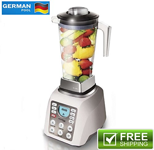 German Pool® 120V Professional High-Speed Food Processor, High Performance Blender, Pulse Mixer (Preset Hi Mixer compare prices)