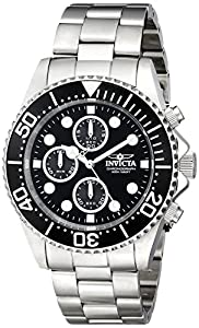 """Invicta Men's 1768 """"Pro Diver Collection"""" Stainless Steel Watch"""