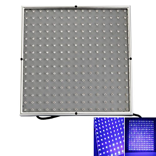 Other Lights - 14W 225 Led Hydroponic Plant Grow Light Panel Blue And White