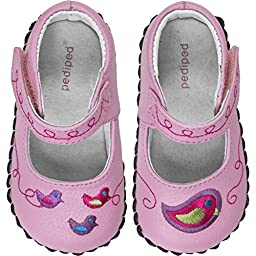 pediped Charlotte Originals Mary Jane (Infant/Toddler),Aster Pink,X-Small (0-6 months)