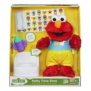 Sesame Street Playskool Potty Time Elmo Plush Toy from Sesame Street
