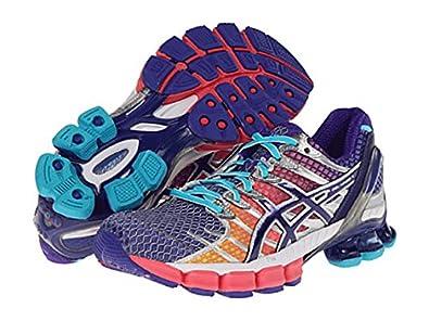ASICS Women's Gel-Kinsei 4 Running Shoe, Hot Punch-11.5 B - Medium