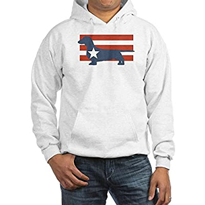 CafePress Patriotic Dachshund Hooded Sweatshirt