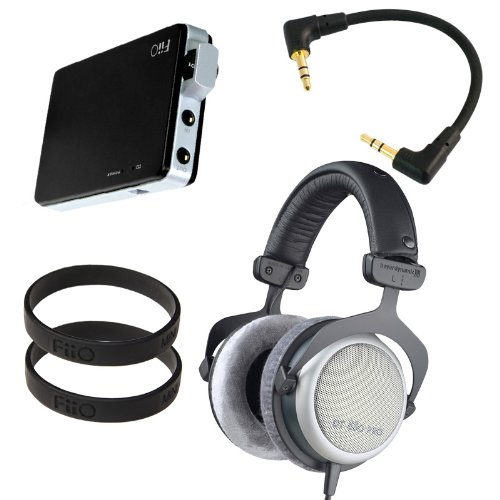 Beyerdynamic Dt 880 Pro 250 Ohm With Fiio E11 Professional Headphone Bundle