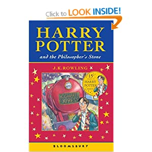 harry potter and the philosopher 39 s stone j k rowling 9780747558194 books. Black Bedroom Furniture Sets. Home Design Ideas
