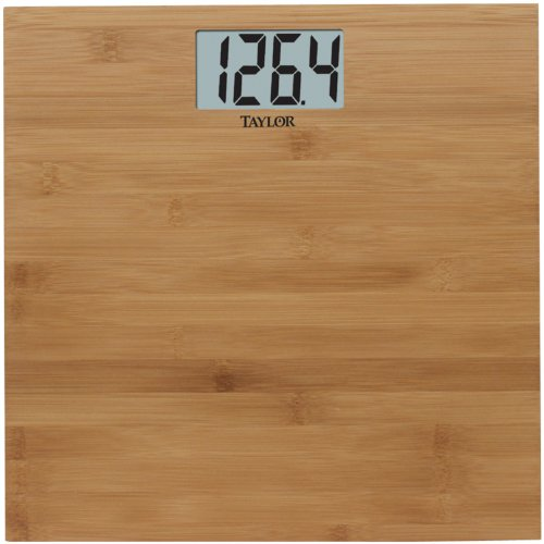 Taylor Scales 8657-4242 Natural Bamboo Digital Scale