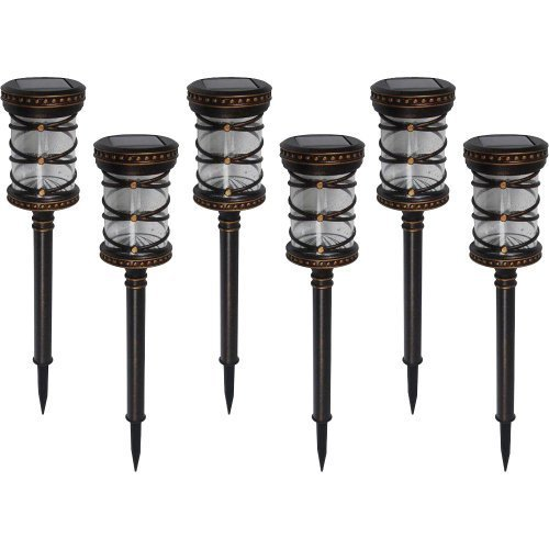 Replacement Lens For Malibu Landscape Lights: Malibu 6 Pack Pathway Lights Solar LED Landscape Lighting