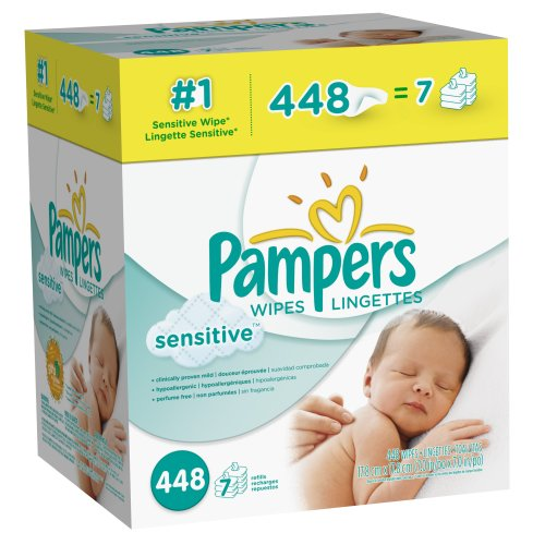 Pampers Sensitive Wipes Caja 7x 448 Conde
