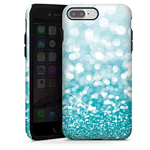 apple-iphone-7-plus-outdoor-hulle-tough-case-cover-glitzer-glanz-glitter