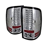 Spyder Auto ALT-YD-GS07-LED-C GMC Sierra 1500/2500HD Chrome LED Tail Light