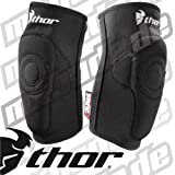 Thor Motocross Static Elbow Guards - Small/Medium/Black