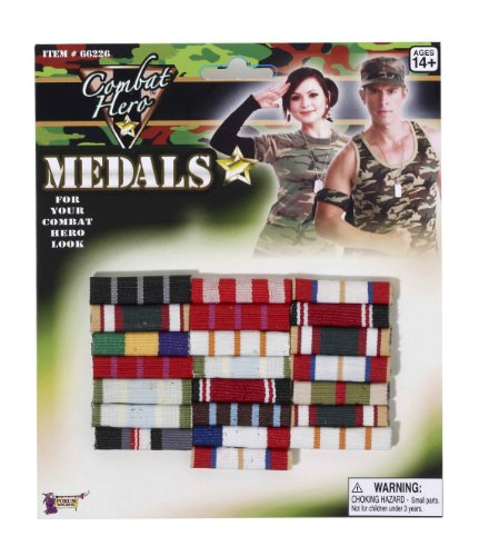 Large Military Costume Combat Medal 66226