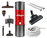 allegro mu4500 top quality central vacuum deluxe air package 30 ft hose