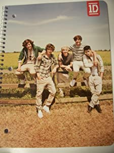 One Direction (1D) Spiral Notebook ~ Outdoor Fun (70 Sheets, 140 Pages; Wide Ruled) by Skyhigh International