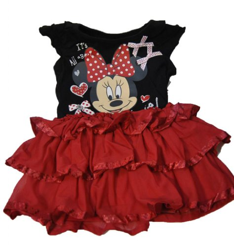Disney Toddler Minnie Mouse Chiffon Dress