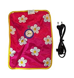 Electric Hot Water Bag With Pre Filled Water / Electric Hot Gel Pouch Warm Bottle (Random Color) (Multi Color)