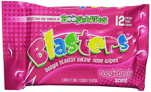 Boogie Wipes, Berry Blasters, 12 Count - 1