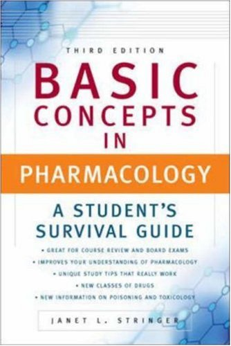 Basic Concepts In Pharmacology Download Pdf By Janet Stringer