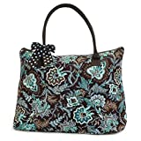 Lar Lar Quilted Floral Extra Large Tote Bag