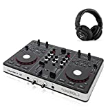 resident dj Kontrol 3 USB-MIDI DJ-Controller Soundkarte mit DJ Kopfhörer