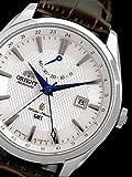 Orient Polaris Automatik GMT (Dual Time) mit Saphirglas und Power Reserve dj05003W -