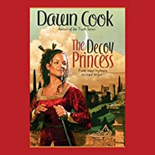 The Decoy Princess: Princess, Book 1 (       UNABRIDGED) by Dawn Cook (as Kim Harrison) Narrated by Marguerite Gavin