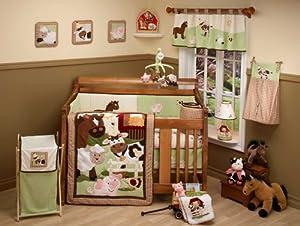 NoJo Farm Babies 5 Piece Crib Set