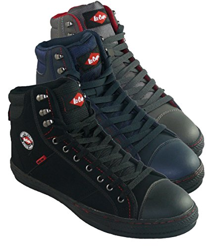 lee cooper basket 022 chaussures de s curit pour adulte mixte r tro baseball boot eu. Black Bedroom Furniture Sets. Home Design Ideas