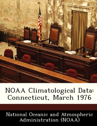 NOAA Climatological Data: Connecticut, March 1976