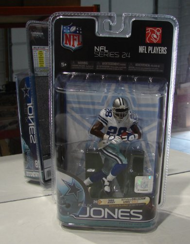 NFL Series 24 FELIX JONES Dallas Cowboys Running Back #28 Collectible Action Figure by McFarlane Toys at Amazon.com