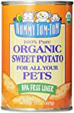 Nummy Tum Tum Pure Sweet Potato for Pets, 15-Ounce Cans (Pack of 12)
