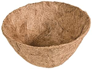 Panacea Products 14-Inch Round Coco Fiber Liner
