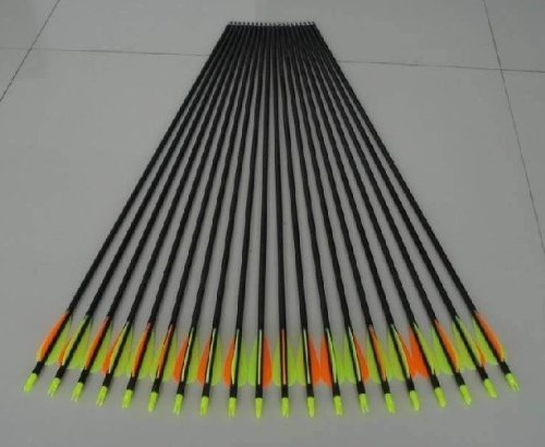 Golden Power Fiberglass Practice/hunting Arrows