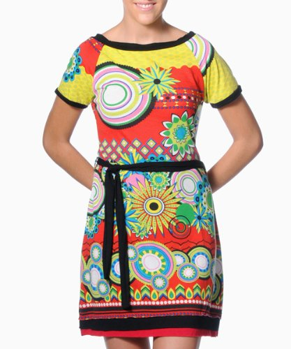 Smash Womens Dress (S1483254RED_Red_Small)