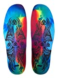 Remind Insoles Cush Travis Rice Insole, Tye Dye, 9-9.5