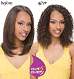 "INDIAN REMY WATER DEEP WET & WAVY HUMAN HAIR WEAVE 14"" #1"