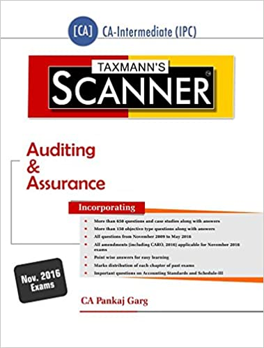Scanner -Auditing & Assurance [CA-Intermediate(IPC)] (July 2016 Edition