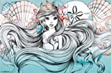 Ariel Land or Sea - Disney Little Mermaid 34x22 Art Print Poster