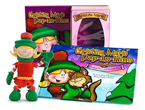 Pop In Kins Elf Pop-In-Kins Christina Marie Bookset