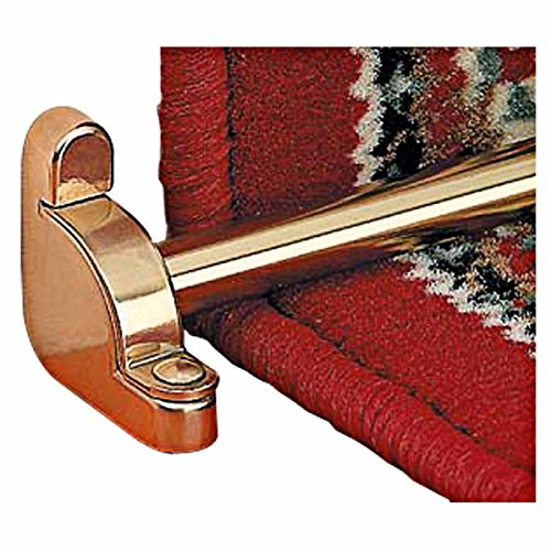 Carpet Rods Bright Brass Plain Tubing Flat End Set Of 13 | Renovators Supply (Yield House Furniture compare prices)